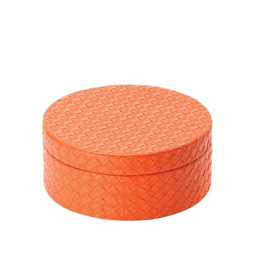 Nesting Orange Jewelry Boxes