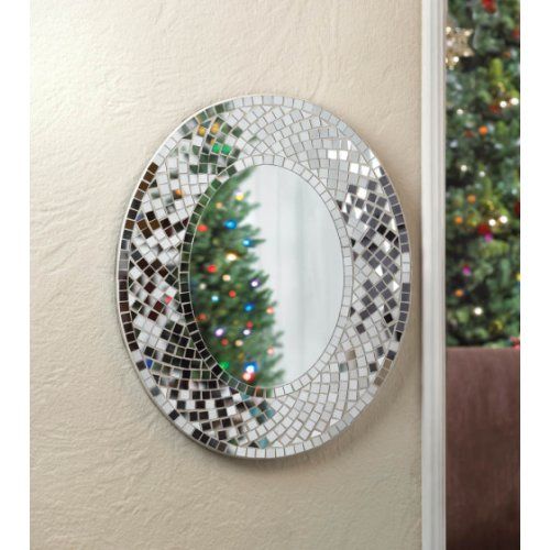 Creative Classic Collection Mosaic Mirrors  Transitional  Bathroom Mirrors