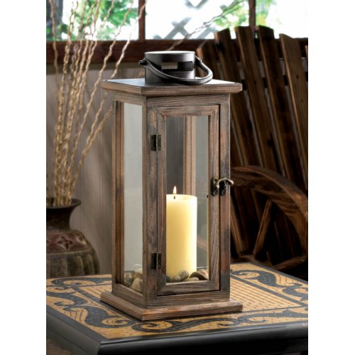 Wooden candle holders outdoor lantern extra large wedding