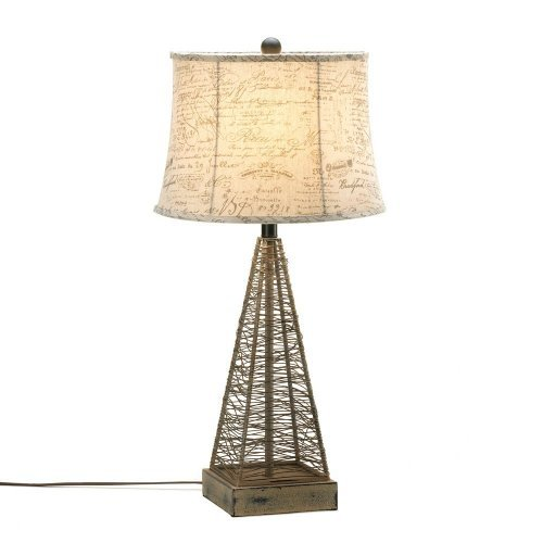 Metal Hatch Table Lamp