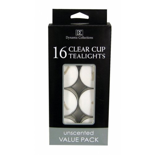 Home Locomotion 16Pk Clear Cup Tealights - White at Sears.com