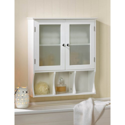 cabinets wooden bathroom wall cabinet w glass doors bathroom shelves