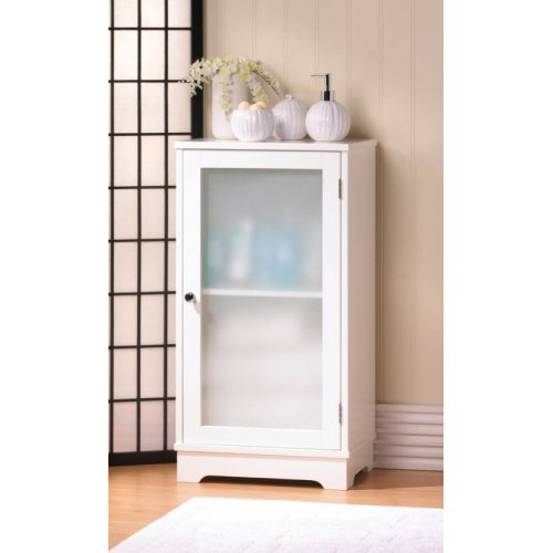 white bathroom floor cabinet storage caddy linen furniture