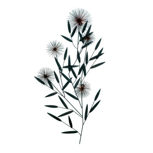 Dandelion Metal Wall Decor : Wall art metal dandelion wish living room country home