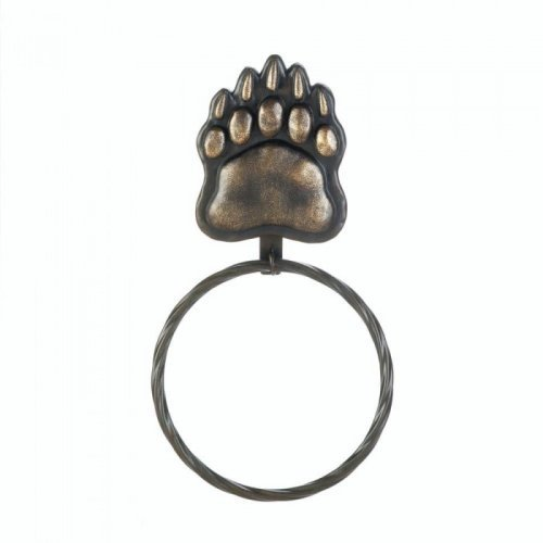 Iron Bear Paw TOWEL Ring