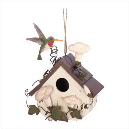 Morning Glory Birdhouse