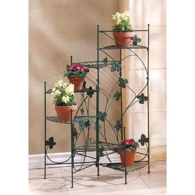 Home Locomotion Metal Ivy-Design Staircase Plant stand at Sears.com