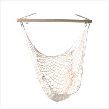 About This Item - New Indoor/Outdoor Patio Cotton & Wood Hammock Swing Chair EBay