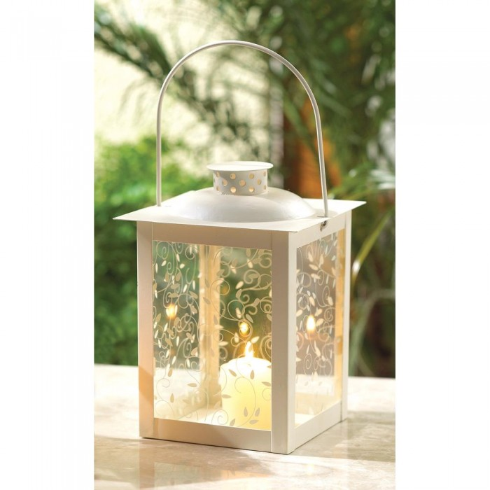 White lantern candle holder wedding centerpieces ebay