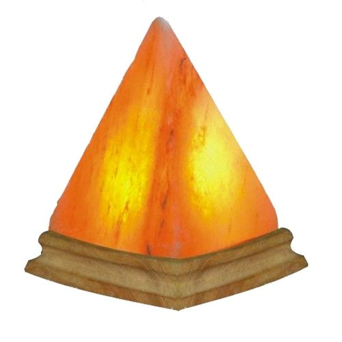 Himalayan Salt Pyramid Shape Lamp eBay