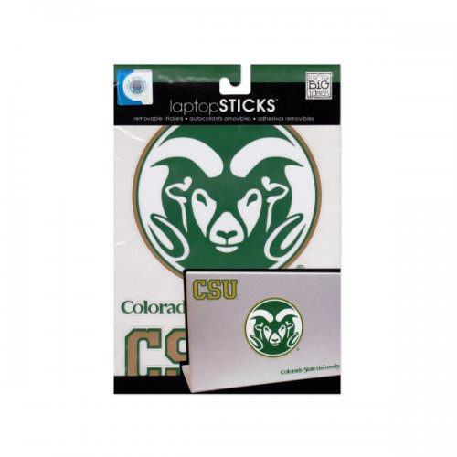 colorado state university removable LAPTOP stickers