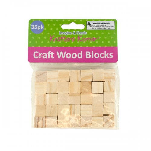 Natural Wooden Craft BLOCKS