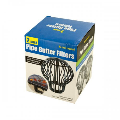 PIPE Gutter Filters Set