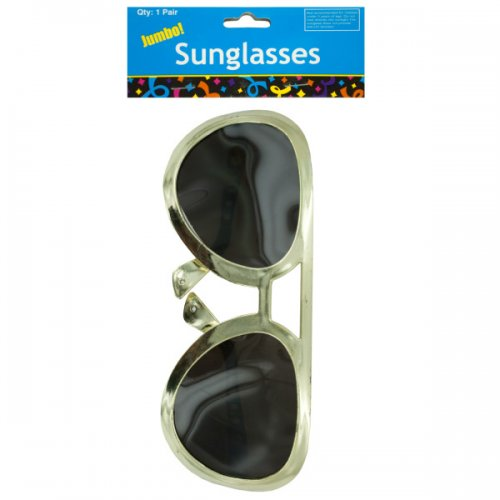 Jumbo Rock Star Party SUNGLASSES