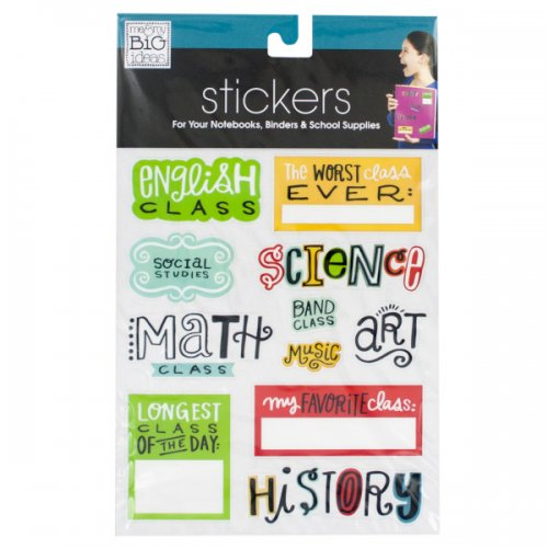 Smarty Pants NOTEBOOK Stickers