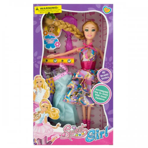 Beauty Fashion Doll with DRESSes & Accessories