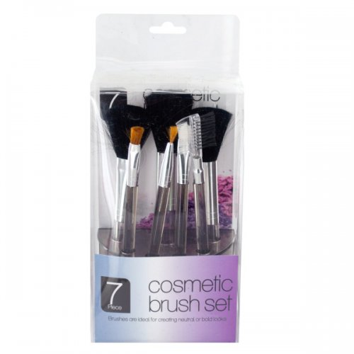 Cosmetic Brush Set in Standing Organizer