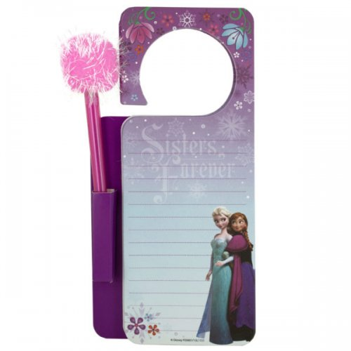 Disney Frozen Door Hanger Memo Pad & Pen Set