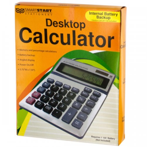 Large Display Desktop CALCULATOR