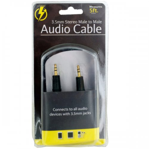 Stereo Male to Male AUDIO Cable