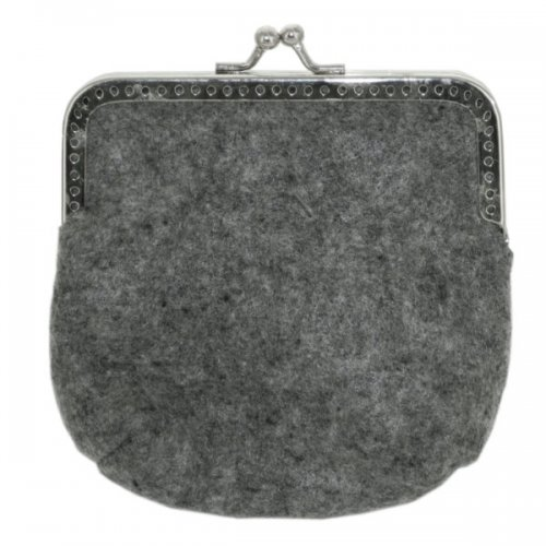 Feltables Charcoal Coin Purse