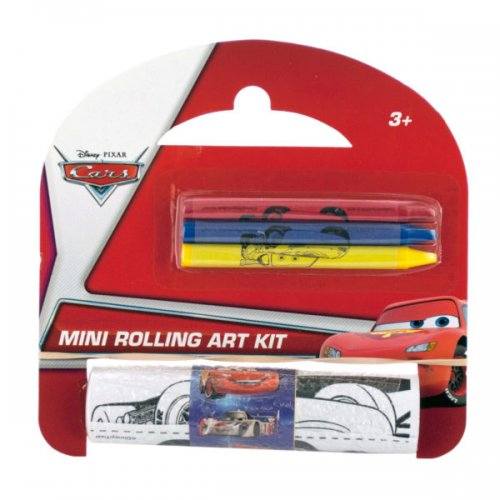 Assorted Licensed Mini ROLLING Art Kit with Crayons