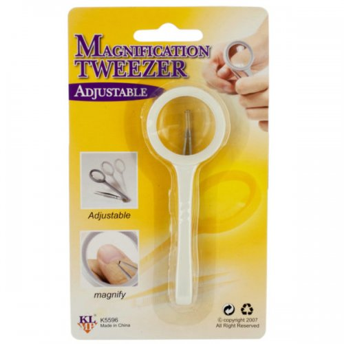 Adjustable Magnification Tweezer