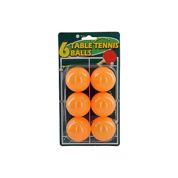 Set of six table TENNIS BALLS