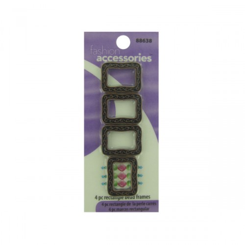 4 pc rectangle beads FRAMEs