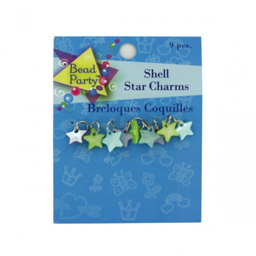 9 pc shell star CHARMs