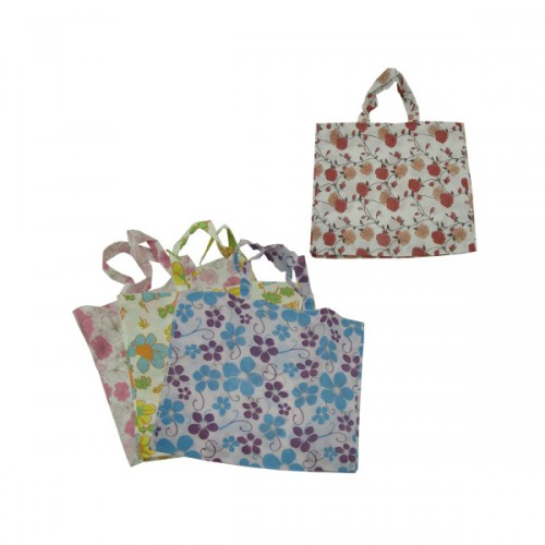large flower TOTE BAG 4 assorted designs