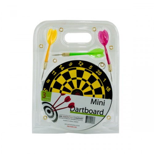 mini DARTBOARD with 3 darts