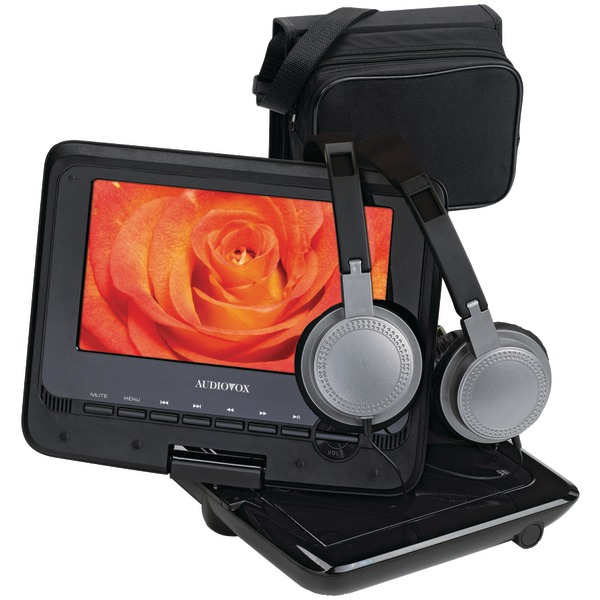 "Audiovox 7"" Swivel Portable DVD Player Kit at Sears.com"