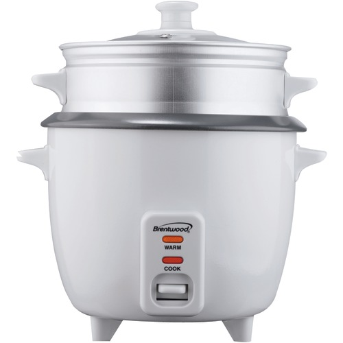 Brentwood Rice Cooker With Steamer 5 Cups 400w