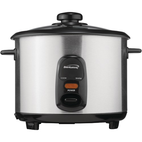 Brentwood Stainless Steel 10 cup Rice Cooker