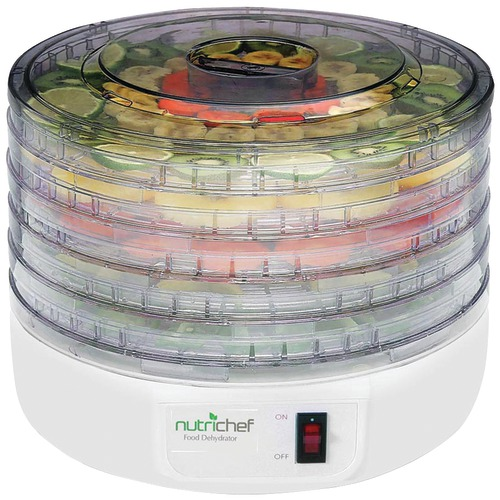 Pyle Home Electric Countertop Food Dehydrator And Food Preserver