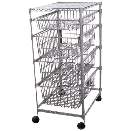 Generic 4 drawer Storage Cart